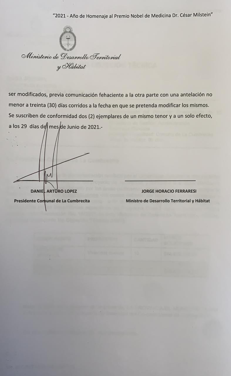 #DiezViviendasParaLaCumbrecita